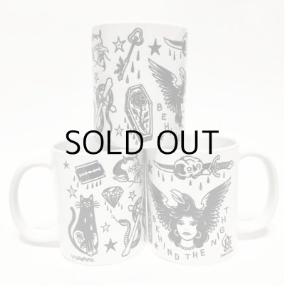 "画像1: ILLSYNAPSE MUG CUP ""TATTOO FLASH"""