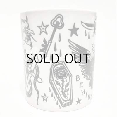 "画像3: ILLSYNAPSE MUG CUP ""TATTOO FLASH"""