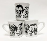 "SECOND KNOCK MUG CUP ""DEVIL ICON"""