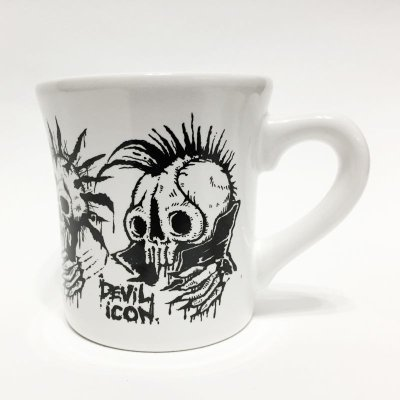 "画像4: SECOND KNOCK MUG CUP ""DEVIL ICON"""
