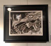 """AUKSONE ART """"Thunderbird"""""""