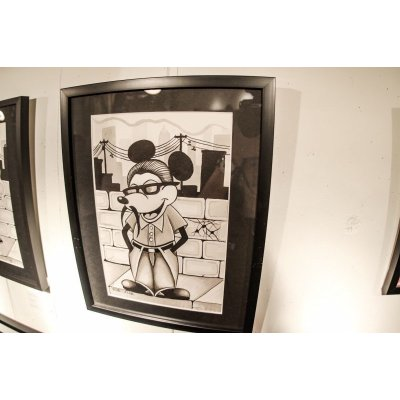 """画像2: JONAH LEVIN ART """"Mickey Loco"""""""