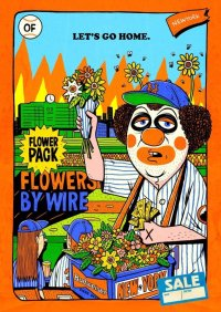 """TM PAINT A2 SIZE POSTER """"Flower seller in NY"""""""