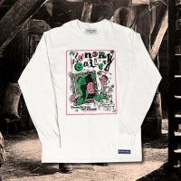 """JACK-O L/S T-SHIRT """"THINK OUTSIDE THE FLAME!"""""""